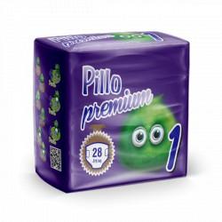 Pillo Premium Pannolini NEW BORN 2-5kg TAGLIA 1