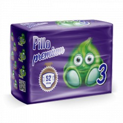 Pillo Premium Pannolini MIDI 4-9kg TAGLIA 3