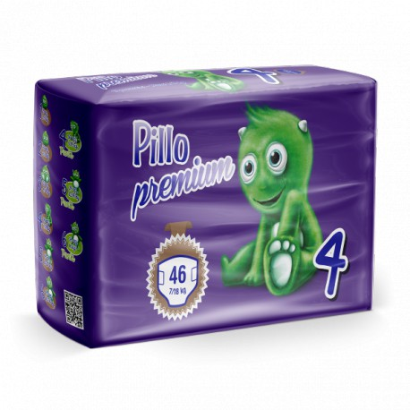 Pillo Premium Pannolini MAXI 7-18kg TAGLIA 4