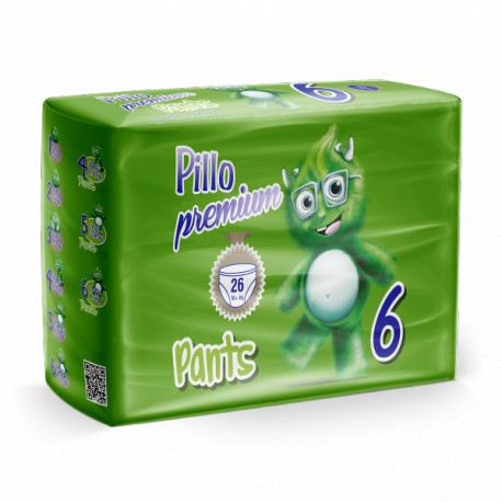 Pillo Premium Pants XL 16+ kg Taglia 6
