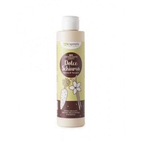 Detergente corpo Vaniglia e Carota - Dolce Schiuma