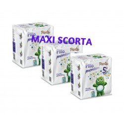 Pillo Premium Pants JUNIOR 12-18kg Taglia 5 (3 CONFEZIONI - 84 pannolini - mutanda)